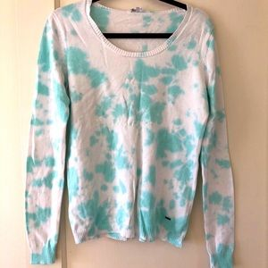 Volcom cotton tie dye sweater